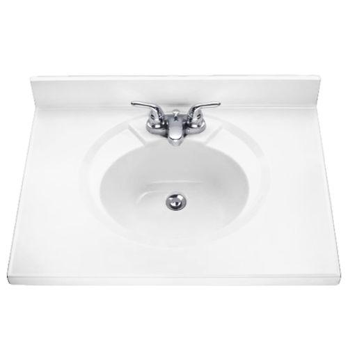 American Standard Astra Cultured Marble Lav 31 X 19 Vanity Top Bathroom Vanities