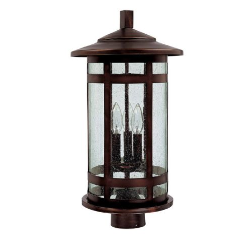capital lighting 9955 3 light outdoor post fixture ebay. Black Bedroom Furniture Sets. Home Design Ideas