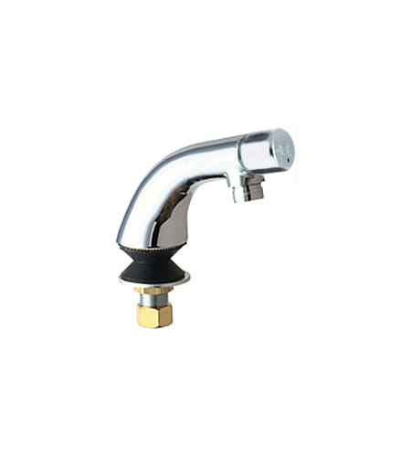 Chicago Faucets 807-E12COLDVPAABCP Chrome  Single Supply Cold Water