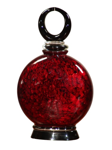 Dale Tiffany AG500345 Red Transitional Alton Perfume Bottle