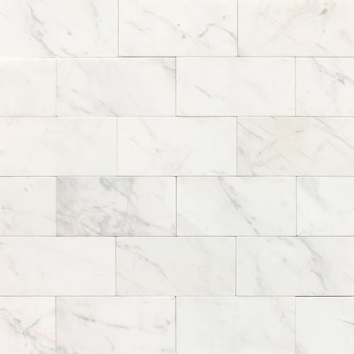 """Daltile M313-361U Contempo White Marble Marble Contempo White 6"""" x 3"""""""
