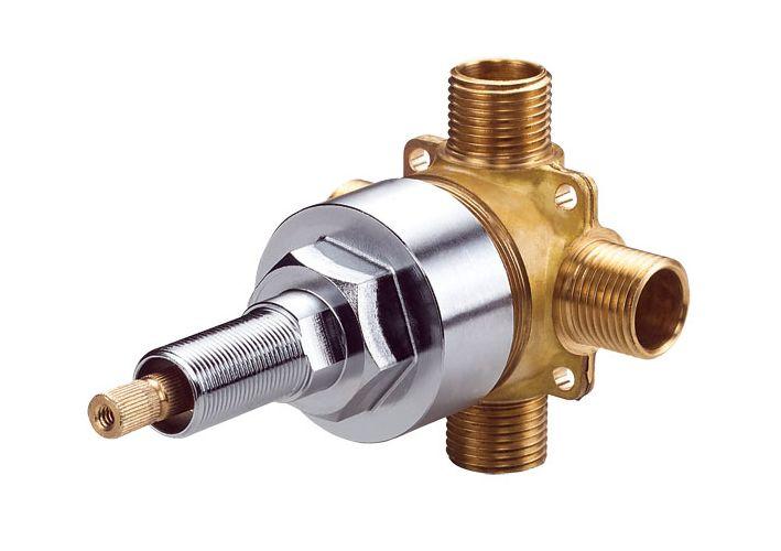 Danze D130000bt N A Single Handle 4 Port Shower Diverter