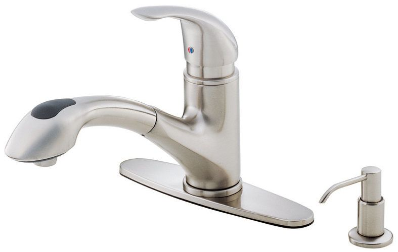danze d454612 stainless steel single handle kitchen faucet danze faucet parts faucets reviews