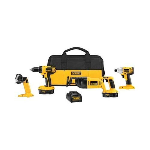 Dewalt DCK425CR N/A  Factory Reconditioned 18 Volt 4-Tool Compact