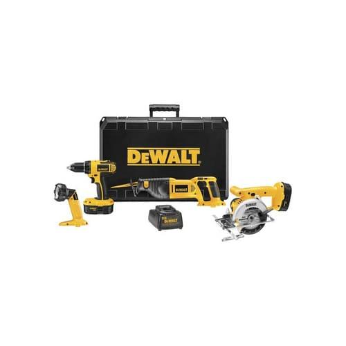Dewalt DC4CKITA  18 Volt Cordless Compact 4-Tool Combo Kit