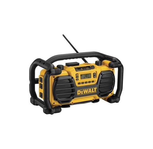Dewalt DC012-CL  Cordless / Corded Worksite Battery Charger Radio
