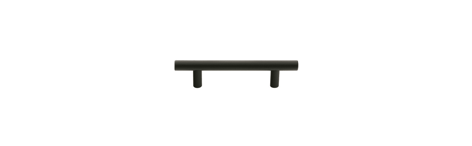 Emtek 86364US10B Oil Rubbed Bronze Brass Bar Mid Century Modern 10