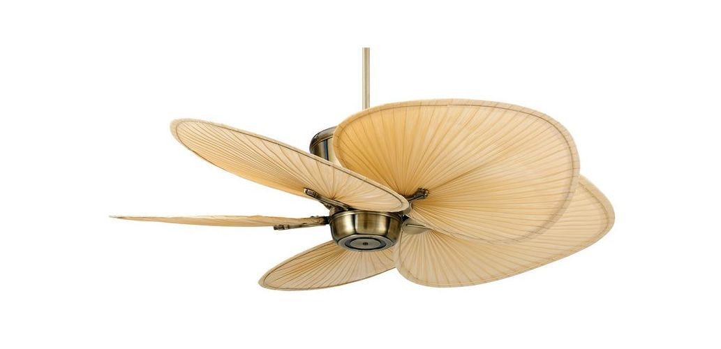 Fanimation MAD3260AB Tropical Indoor Outdoor Ceiling Fan with Remote Control