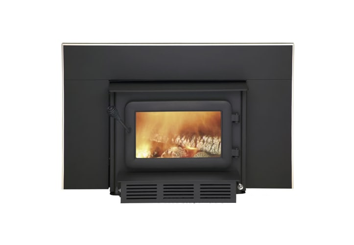Flame FL-061 Black XTD XTD 1.9-I E.P.A Fireplace Insert with 6\