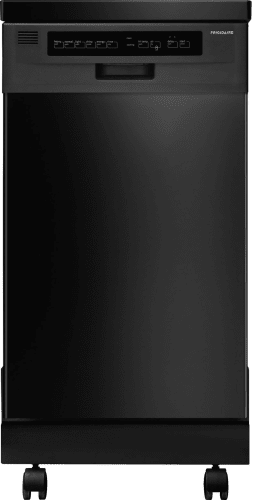 Frigidaire FFPD1821MB Black  18 Portable Dishwasher with Stainless