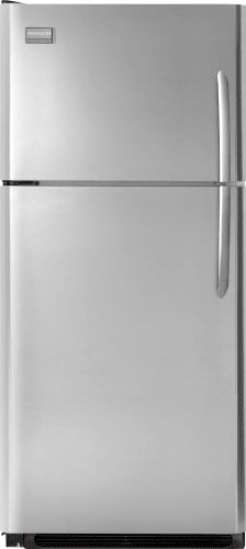 Frigidaire FGHT1846KR Stainless Steel Gallery 18.28 Cubic Foot Top Freezer Refrigerator with SpaceWise Organization System and Real Stainless Steel FGHT1846KR