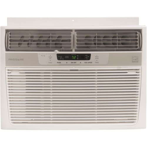 Frigidaire FRA126CT1 White Energy Star 12,000 BTU Compact Window Air Conditioner with 3 Fan Speeds and Temperature Sensing Remote FRA126CT1