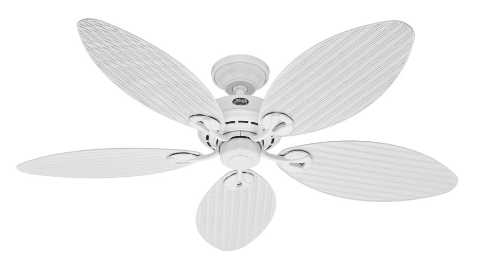 """Hunter White 54"""" Bayview Ceiling Fan Blades"""
