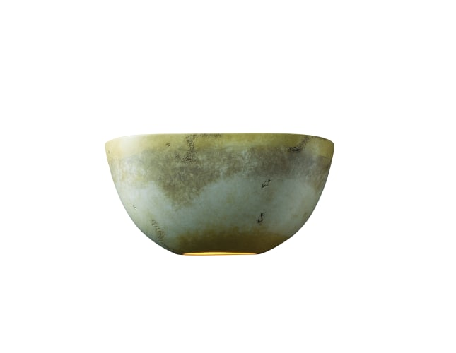 Justice Design Group CER-5725-CKC Celadon Green Crackle Ceramic Two