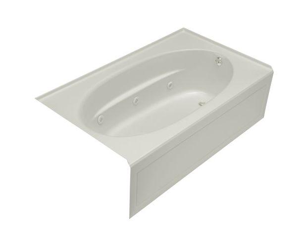 Kohler Windward 6 Ft Whirlpool Tub In Ice Grey 1114 Hr 95
