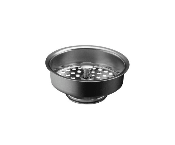 Kohler K-8803-SN Polished Nickel Duostrainer Basket Strainer (Basket