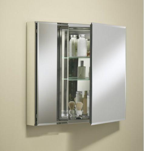 decorative bathroom mirrors kohler 30 in w recessed medicine cabinet