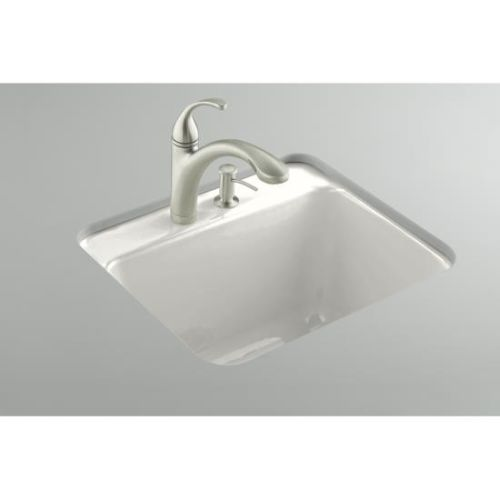 Undermount Utility Sink White : Kohler K 6663 3U White 25