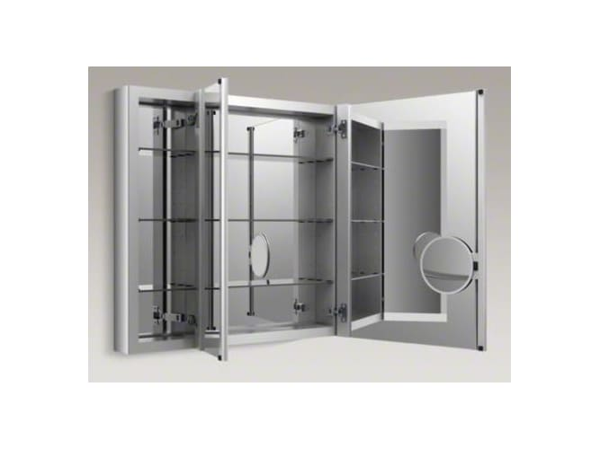 Kohler K 99011 Na 40 Quot X 30 Quot Triple Door Mirrored Medicine Cabinet With Adjustabl Ebay