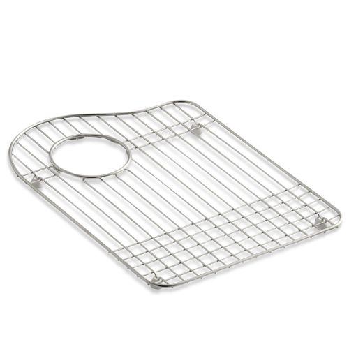 Kohler Sink Protectors : Kohler K 6016L Stainless Steel Left Bowl Stainless Steel Sink Rack for ...