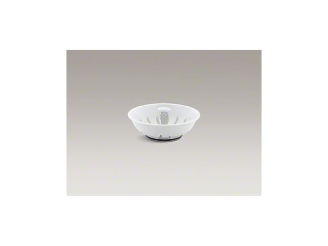 Kohler K-8803-0 White Duostrainer Basket Strainer (Basket Only) from