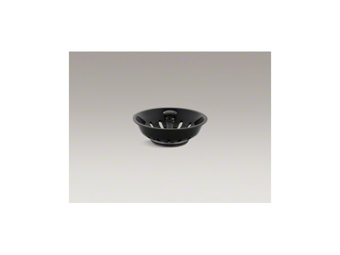 Kohler K-8803-7 Black Duostrainer Basket Strainer (Basket Only) from