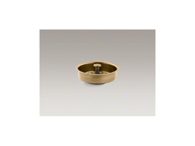 Kohler K-8803-PB Polished Brass Duostrainer Basket Strainer (Basket