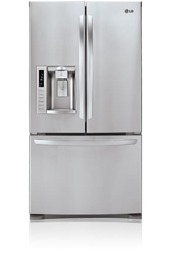 LG LFX28978ST Stainless Steel 28 Cubic Foot French Door Refrigerator with Tall Ice & Water Dispensing System LFX28978