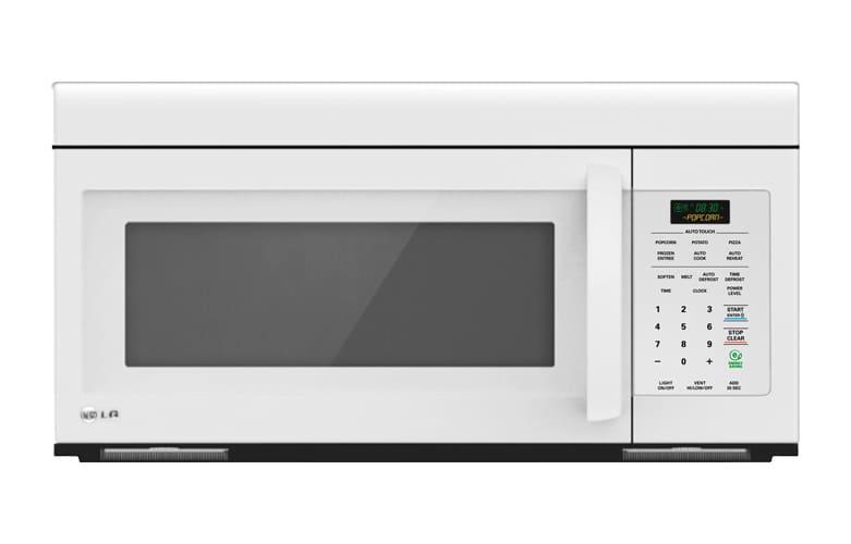 LG LMV1683SW White  1.6 Cu. Ft. Non-Sensor Over the Range Microwave