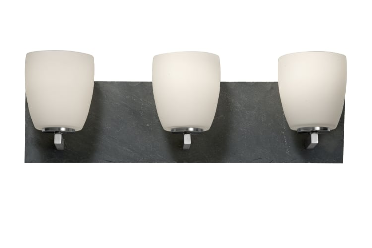Murray Feiss VS19203 3 Light Vanity Strip Bathroom Fixture with Glass Shades eBay