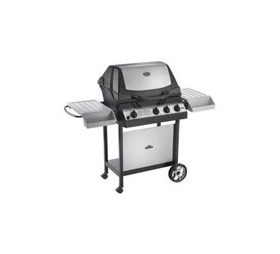 napoleon u405rbnss 3 natural gas stainless steel ultra chef open cart style grill with 575 sq. Black Bedroom Furniture Sets. Home Design Ideas
