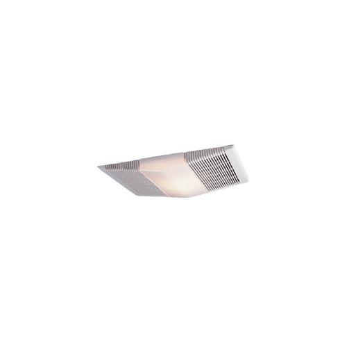 nutone 665rp white combination heater fan light 70 cfm. Black Bedroom Furniture Sets. Home Design Ideas