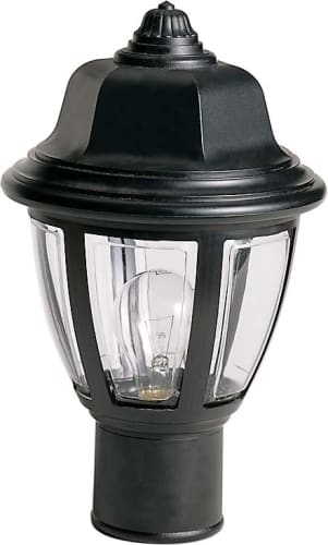 Nuvo Lighting SF77/806 Black Single Light 14