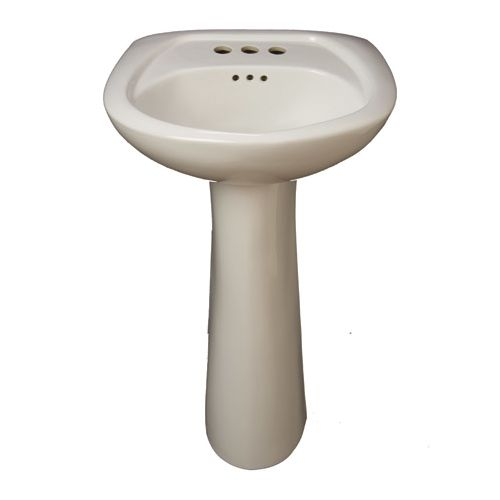 Details about ProFlo PF1045WH Bathroom Sink Pedestal Only