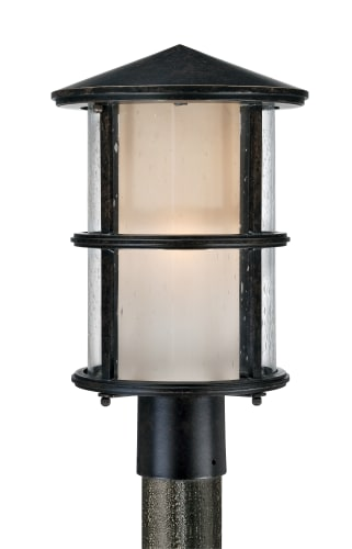 Quoizel QF1516IB Imperial Bronze Build.com Exclusive 1 Light Outdoor Post Light from the Build.com Exclusive Collection QF1516