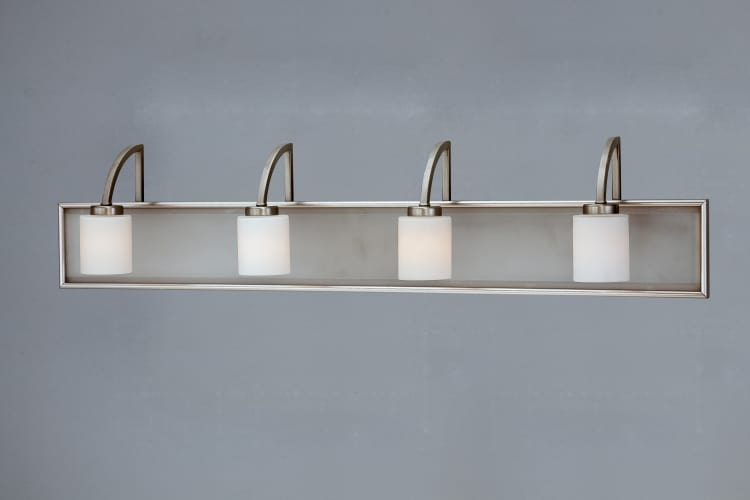 Quoizel Vtmy8604bn Vetreo Make Your Own Bath Vanity Light In Brushed Nickel White Bathroom Tile