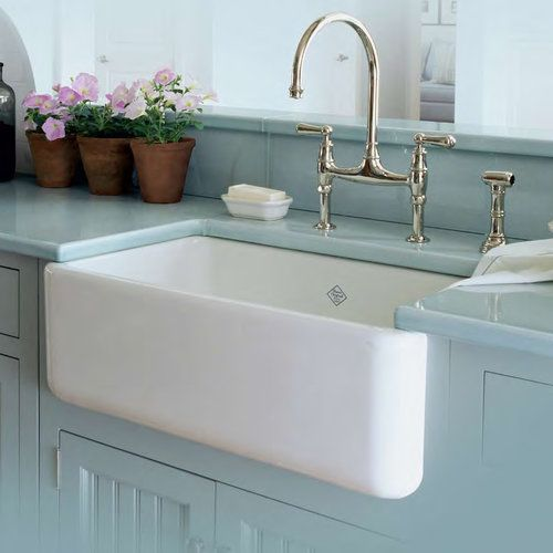 Apron Sink 30 : Rohl RC3018 White 30