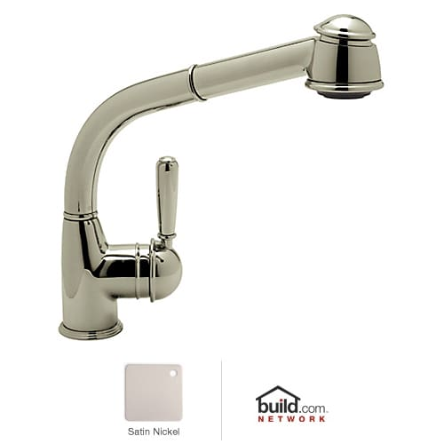 rohl r7903 satin nickel country kitchen faucet with pull kitchen surprising rohl kitchen faucets replacement parts