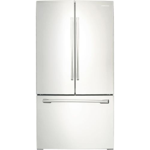 Samsung RF260BEAEWW White 26 Cu. Ft. French Door Refrigerator with