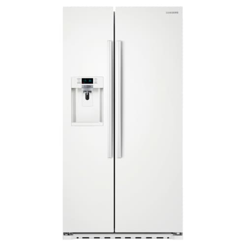 Samsung RS22HDHPNWW White 22 Cu. Ft. Capacity 36