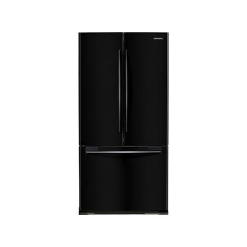 Samsung RF197ACBP Black Pearl 18 Cubic Foot French Door Refrigerator