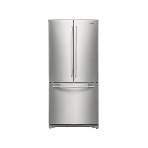samsung rf197acpn 18 cubic foot french door refrigerator