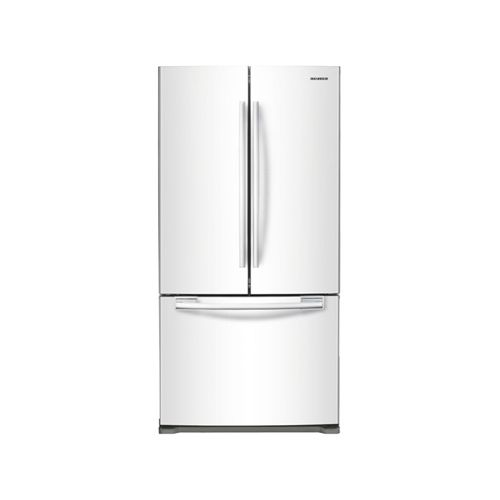 samsung rf197acwp 18 cubic foot french door refrigerator