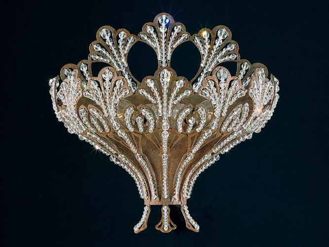 Schonbek 7854-32A French Lace / Swarovski Rivendell Crystal Three