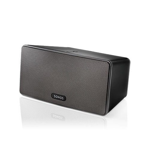 Sonos Play3B Black  Wireless TriAmped Three Speaker Sound System