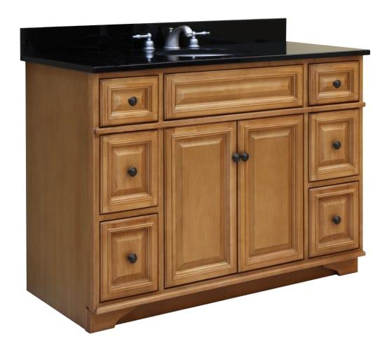 wood bw4821d briarwood vanity cabinet 48 maple wood vanity cabinet