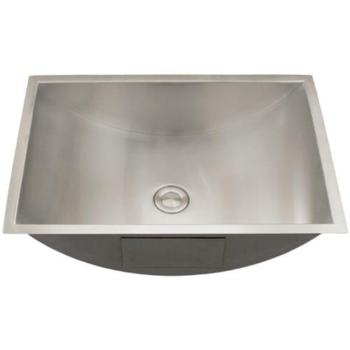 Undermount Bathroom Sinks Ticor S730 Stainless Steel 20 1 2