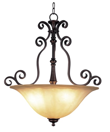 Trans Globe Lighting 21054 ROB Rubbed Oil Bronze New Century Three Light Garland 23