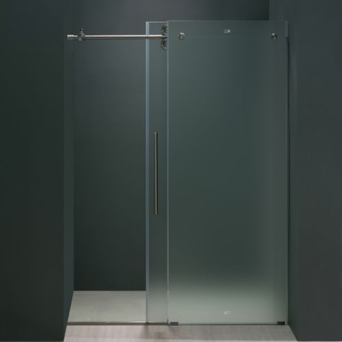 frosted glass shower - photo #21