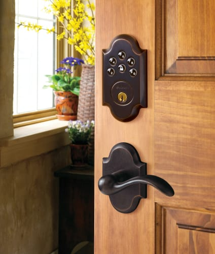 Baldwin 8252.AC1 Boulder Keyless Entry Deadbolt
